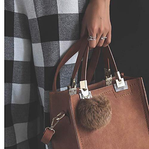 KWHY damestas Luxe lederen handtas voorkleine vierkante tas over schouder Crossbody Sac a Main Lady bakken