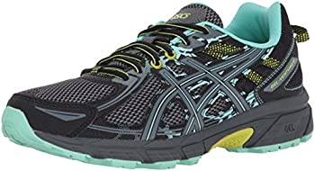 ASICS Women s Gel-Venture 6 Running-Shoes,Black/Carbon/Neon Lime,9.5 Medium US