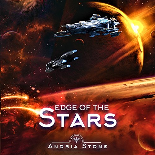 Edge of the Stars: A Techno-Thriller Science Fiction Novel audiobook cover art