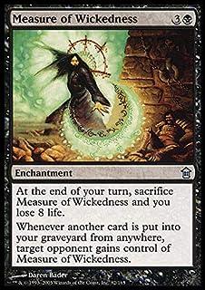 Magic: the Gathering - Measure of Wickedness - Saviors of Kamigawa