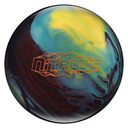 Columbia 300 Nitrous Bowling Ball Black Cherry/Yellow/Blue, 10lbs