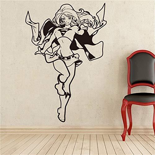 Wandaufkleber Wandtattoo Kreative Supergirl Dc Marvel Comics Superhelden Wohnkultur