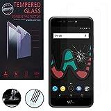 VComp-Shop® 2x Hochwertige gehärtete Panzerglasfolie für Wiko UPulse Lite 4G 5.2