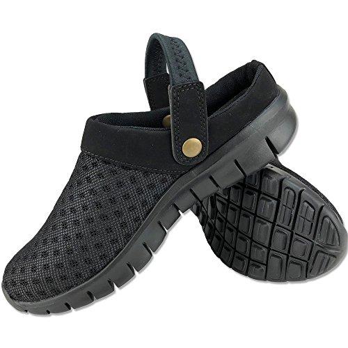 DECT(デクト) 70213 メンズ 靴 超軽量 サボ サンダル リゾート カジュアル 通気性 クロッグ 軽い (27cm, ブ...