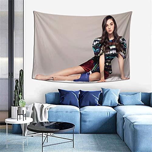 AOOEDM Tapiz de Alexa Nisenson para dormitorio, sala de estar, tapices de decoración para colgar en la pared, 60 * 40 pulgadas