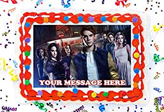 Riverdale Cake Topper Edible Image Personalized Cupcakes Frosting Sugar Sheet (8