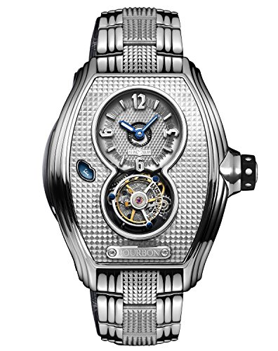 Memorigin Bourbon Series Tourbillon Relojes Color Plata