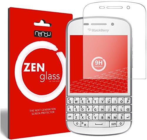 ZenGlass Flexible Glas-Folie kompatibel mit BlackBerry Q10 Panzerfolie I Bildschirm-Schutzfolie 9H
