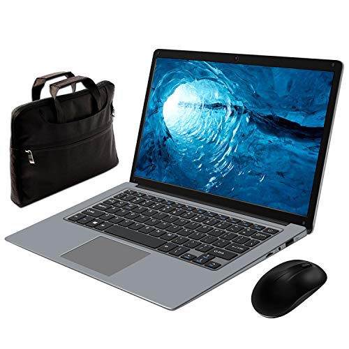 Notebook Portatile 14,1 Pollice Inter ® MEBERRY - Ultrasottile Windows 10 PC Portatile 6 GB RAM & 64 GB Memoria - WI-FI 802.11AC| Bluetooth 4.0| Aux 3.5Mm| USB 3.0 / 2.0| HDMI Corpo In Metallo Grigio