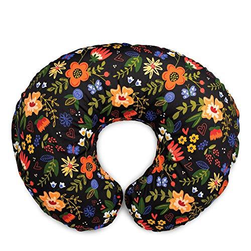 Boppy Original Nursing Pillow & Positioner, Black Floral