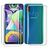 SMYTU Funda para Samsung Galaxy M21/M30s,Transparente Carcasa Ultra-Delgado Silicona Suave TPU Gel Bumper Protectora Case Cover para Samsung Galaxy M21/M30s-Transparente