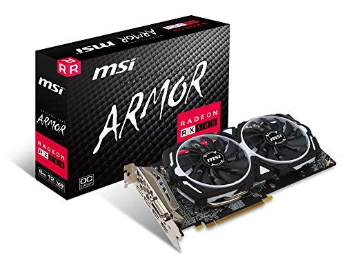 MSI Radeon RX 580 ARMOR 8G OC J グラフィックスボード VD7266