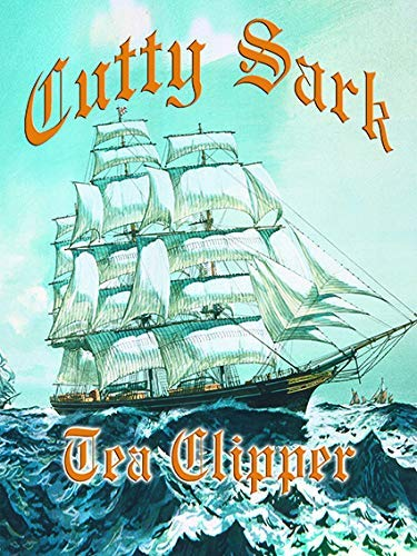 Desconocido Cutty Sark Tea Clíper Alto Barco de Vela Boat-Parent - 40 x 30 cm