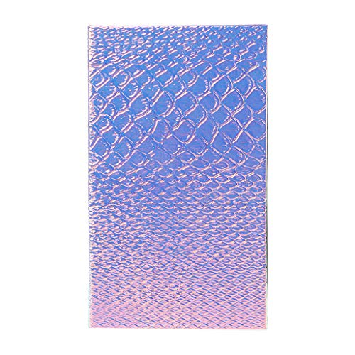 MB-LANHUA Fish Scale Vide Magnétique Maquillage Palette DIY Fard À Paupières Anti-cernes Cas Titulaire 1#