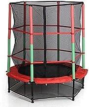 Vouwen indoor trampoline rebounder 55 inch kinderen trampoline met behuizing netto jumping mat dragende 10-100 kg voor thu...