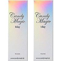 NEWキャンディーマジックワンデー ■SUGARブラウン 10枚入り 2箱セット (-4.25)