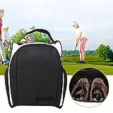 【𝐁𝐥𝐚𝐜𝐤 𝐅𝐫𝐢𝐝𝐚𝒚】 Paquete de Golf portátil, Bolsa de Golf de Nailon Impermeable, Paquete de Ropa para Zapatos de Golf,...