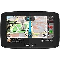 TomTom GO 520, GPS para coche, 5 pulgadas, llamadas manos libres, Siri y Google Now, actualizaciones via Wi-Fi, traffic para toda la vida mediante smartphone y mapas mundiales, mensajes de smartphone