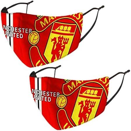Manchester United fc Face Scarf 3D Anti Dust Balaclavas Soccer Balaclava 2PCS for Men Women product image