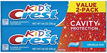 2-Pack Crest Kid's Cavity Protection Toothpaste