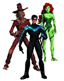 DC Collectibles Hush Scarecrow, Nightwing and Poison Ivy Action Figure, 3-Pack...