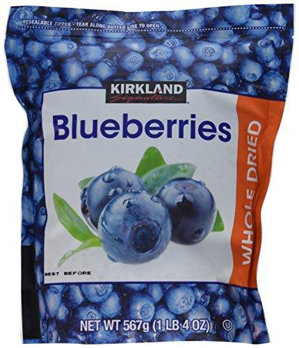 Kirkland: Whole Dried Blueberries 20 Oz (3 Pack)