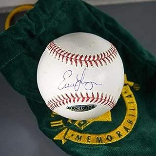 Signed Evan Longoria Baseball - Official Selig UDA Certs - Autographed Baseballs