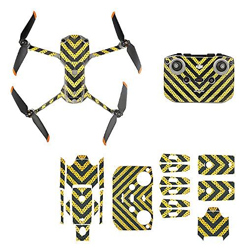 LOVONLIVE Adesivo per DJI Mavic Air 2S, Impermeabile PVC Adesivo Anti Scratch Skin Pellicola Protettiva Decalcomanie per DJI Mavic Air 2S Drone Corpo/Batteria/Drone Braccio/Telecomando