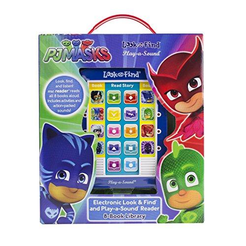 PJ Masks Catboy, Owlette, Gekko and More! - Me Reader Electronic Reader and 8 Sound Book Library - PI Kids
