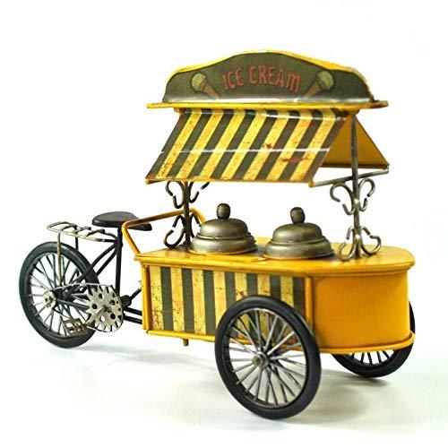 PZAIQ Escultura Decoración Creativa Retro del Hogar De La Hucha del Modelo De Coche De Comida Rápida