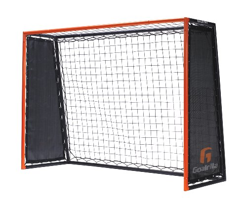 Goalrilla Striker Soccer Rebound Trainer with Double-Sided, Ultra-Responsive Rebounding Net and Goal, Large