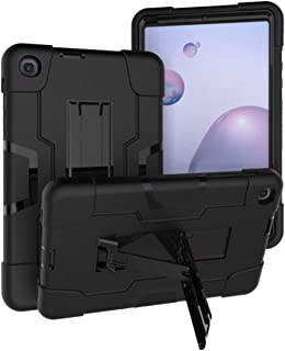 Jaorty 3 in 1 Hybrid [Soft&Hard] Heavy Duty Rugged Stand Cover Shockproof Anti-Slip Anti-Scratch Full-Body Protective Case...
