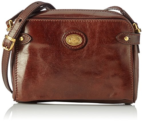 The Bridge Story Donna 04005801 Damen Umhängetaschen 22x6x15 cm (B x H x T), Braun (Brown 14)