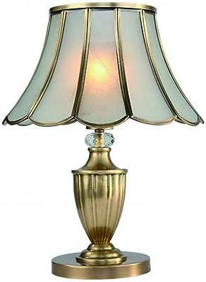 Madera sólida Estilo europeo Lámparas de mesa,Dormitorio Lámpara ...