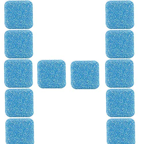 Multi-Functional Power Tablet Cleaner, 12pcs Washer Machine Cleaner Effervescent Tablets, Dish Washer Cleaner, Deep Cleaning Tablets for All Machines