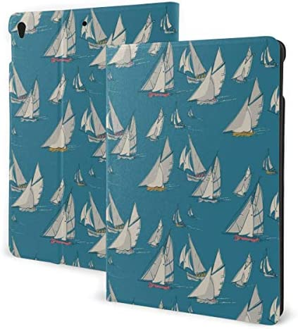 Working Boats Nautical Case for Ipad Air 3rd Gen 10 5 2019 Ipad Pro 10 5 2017 Multi Angle Folio product image