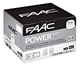Faac Power 106746445 Kit automatisation électromécanique 2 actionneurs 770N Moteur enterré portail battant Largeur porte 3,5 m