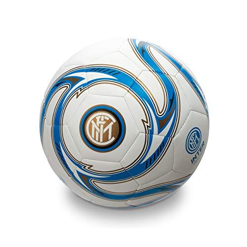 Mondo- F.C. Inter Milano 13642 Pallone Calcio, Colore Nero Azzurro Bianco, Size 5, 2 14 54