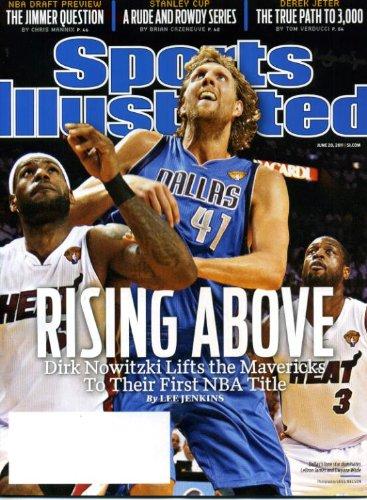 Sports Illustrated June 20 2011 Dirk Nowitzki/Dallas Mavericks on Cover (Mavs Win NBA Title), Derek Jeter/New York Yankees, Stanley Cup, Jimmer Fredette/Brigham Young University BYU