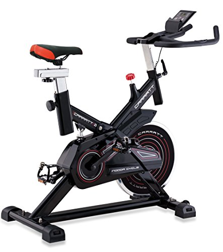 CARRATT Spin Bike Carratt 23, Bicicletta Unisex – Adulto, Nero