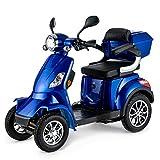 Scooter Electrico Minusvalido Moto Para Personas Mayores Vehículo De Movilidad | Scooter Electrico Adulto 4 Ruedas 1000W...