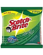 Scotch-Brite Scrub Pad, Large (Pack of 6)
