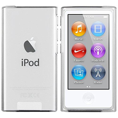 moodie Silikonhülle für iPod Nano 7G Hülle in Transparent - Case Schutzhülle Tasche für Apple iPod Nano 7 Generation - 2015 Version