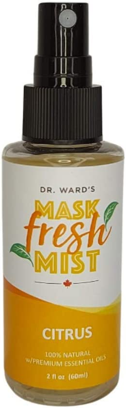 Dr. Ward's Face Mask Max 61% OFF Refresher Spray Natural Mist Citrus Opening large release sale - All