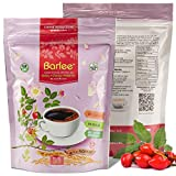 Barlee With RoseHip - Coffee Alternative Beverage Blend - Chicory Root Powder With Barley - Instant Chicory Coffee Substitute - No Sugar Caffeine Free Pack of 2 (14.10 oz total)