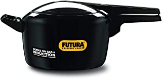Futura by Hawkins Hard Anodized 5.0 Litre Pressure Cooker from Hawkins