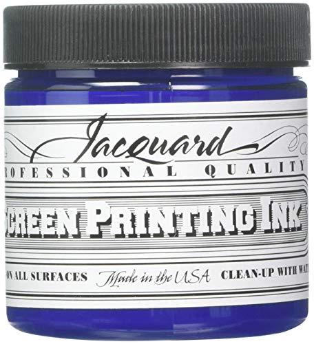 Jacquard JAC-JSI1110 Screen Printing Ink, 4 oz, Royal Blue