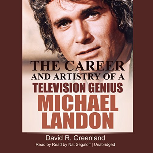 Michael Landon audiobook cover art