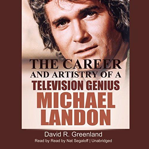 Michael Landon audiobook cover art