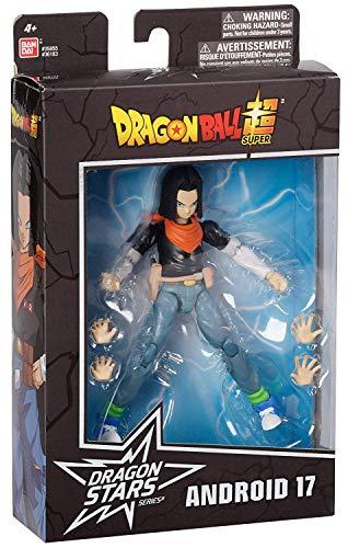 ドラゴンボール超 USAバンダイ ドラゴンスターズ 6インチ アクションフィギュア シリーズ10 人造人間 17号 / DRAGON BALL SUPER DRAGON STARS Action Figure SERIES 10 ANDROID 17 DB